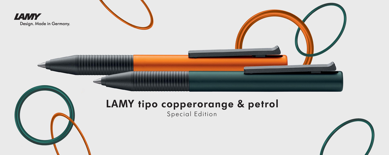 ปากกา LAMY รุ่น tipo Al/K pearlrose & lightblue