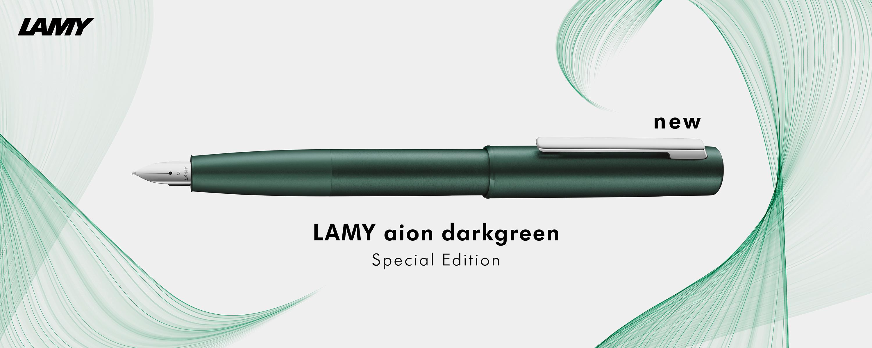 ปากกา LAMY รุ่น aion darkgreen