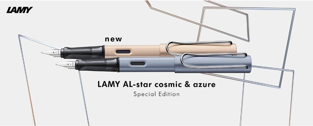 ปากกา LAMY รุ่น AL-Star cosmic & azure