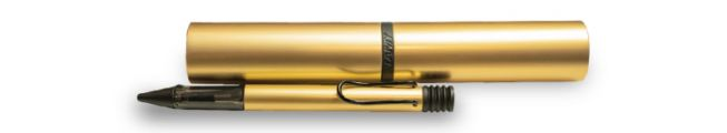 BALL PEN AL-STAR GOLD BLACK CLIP