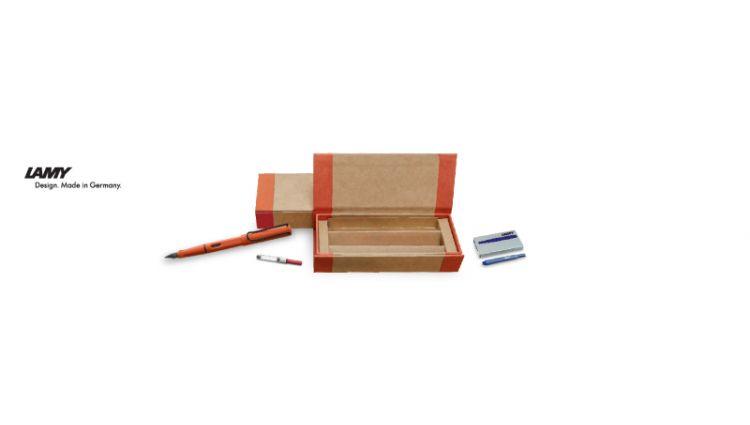 Safari Original - ECO box set : Fountain pen + Ink refill + Converter